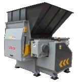 De enige Ontvezelmachine van de Schacht voor Plastiek/Hout/Document