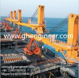 積み替える船の貨物のためのクレーン