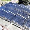 Colector solar del calentador de agua del tubo de vacío de la No-Presión (ALT-HC)