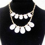 De nieuwe Halsband van de Juwelen van de Manier van de Parels van de Deklaag van het Punt Acryl