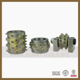 125mm 3 Rollers Diamond 부시 Hammer Plate