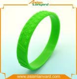 Bespoke Wristband силикона логоса печатание