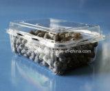 Коробка горячего плодоовощ сбывания пластичного упаковывая на голубика клубники 500 грамм