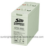 UL Approved di RoHS del CE di SBB 2V1000ah Gfm-1000 Telecommunications System Battery