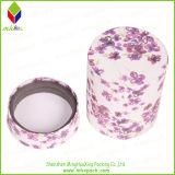 Коробка свечки печатание цветка круглая упаковывая