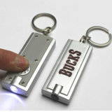 Logo Printed (4066)를 가진 번쩍이는 LED Light Keychain
