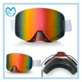 Fabricantes cinzentos de Eyewear dos óculos de proteção do esqui do PC da anti névoa barata