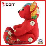 Brinquedo Recheado Urso Vermelho Flor Brinquedo Clássico Chinês Brinquedo Brinquedo