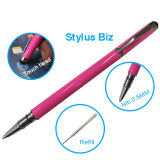 2 dans des entreprises de 1 d'aiguille crayon lecteur en métal pour l'écran tactile