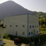 프랑스를 위한 Prefabricated 난간 벽 강철 구조물 작업장