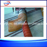 鋼鉄正方形の管および円形の管のための8つの軸線CNC血しょう切断の斜角ドリル孔機械