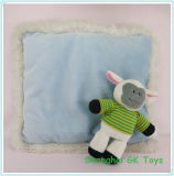 Cushion blu con un Cute Sheep Plush Cushions