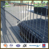 View e High liberi Strong 2D Double Wire Fence Panel
