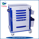 Carro personalizado dos cuidados do subministro médico da mobília do hospital