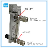 Compteur de débit direct compacte, 100-1000 Cc / Min. Avec 1 / 4NPT