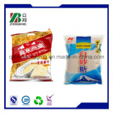 El bocado de las virutas del plátano plástico coloca el bolso modificado para requisitos particulares para arriba de empaquetado