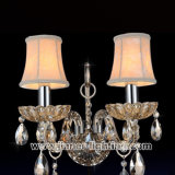 Murao Crystal Sconce Wall Lamp Light per il lato del letto (W8004-2N)
