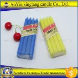 Duftende Paraffinwachs-Gelb-Farben-Kerze