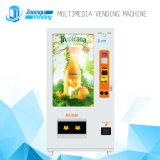 Máquina expendedora automática de múltiples funciones de los media completos de la pantalla táctil para la bebida