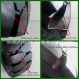 10-16.5 12-16.5 industrielle Reifen, fester Reifen, fester Gleiter-Ochse-Gummireifen