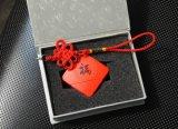 Fabrik-kundenspezifische chinesische rote Knoten-Art USB-Platte