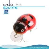 Señuelo superior para el bajo - señuelo de los trastos de pesca (IS0145) del insecto del agua de los cebos selectos de la manivela del pescador