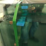vidrio Tempered de la seguridad clara de 12m m para la puerta del cuarto de baño