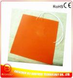 calefator elétrico do silicone do elemento de aquecimento do silicone da impressora de 12V/24V 3D