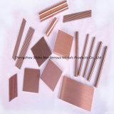 Placa de aleación de cobre de tungsteno, aleación de cobre de tungsteno de confianza