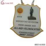 La coutume bon marché a estampé la médaille de récompense de logo (LM1691)