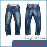 Джинсыы людей джинсовой ткани мытья способа (JC3065)