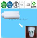 Einzelnes seitliches PET überzogenes Starbucks-heißes Kaffee-trinkendes Cup-Papier