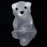 Luz do urso da decoração do Natal do diodo emissor de luz (L-A-B009)