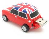 Driver di plastica del USB di figura dell'automobile dell'azionamento della penna del USB