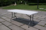 Furniture extérieur Hot Sale 6ft Plastic Folding Rectangular Dinner Table