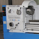 Máquina grande del torno del metal de la precisión del alesaje de eje de rotación de China (CA6266C)