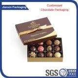 Container van de Chocolade van diverse Vorm de Plastic