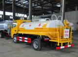 100HP 5000 Liter van Tankwagen 5 van het Water Cbm de Vrachtwagen van de Sproeier voor Verkoop