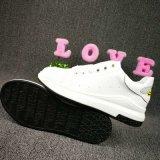 2017 neue Dame Casual Sneakers, weißes Leder-beiläufige Schuhe für Frauen, Art Nr.: Beiläufiger Schuh-Michael 001. Zapatos, Anti-Fleck Weiß-Schuhe