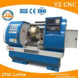 La rueda de la aleación repara la máquina del torno del CNC
