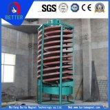 Separação por gravidade em espiral Chute / Spiral Chute Separator for Concentrating Tungsten Ore, Tin, Mineral de tântalo / Placer Mining