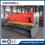 Máquina de cisalhamento de chapa de folha de fabricação da China com Ce & ISO (QC11Y-12X3200)