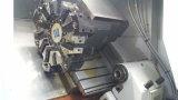 Metall Ck40L CNC-Fanuc, das horizontale Präzision CNC-Drehbank maschinell bearbeitet