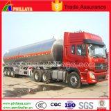 Semi Aanhangwagen van de Tankwagen van de Legering van het Aluminium van het Water van de olie de Roestvrije