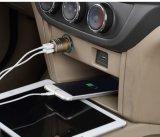 합금 차 충전기 USB 이동할 수 있는 QC3.0 차 충전기