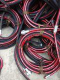 """3/4 """" высокотемпературных шлангов пара оплетки провода"""
