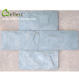 도매 Grade Mushroom Surface Green Slate Wall Tiles
