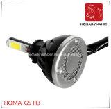 Farol H1 H3 H4 H7 9005 9006 do diodo emissor de luz do farol 40W 4000lumen G5 do diodo emissor de luz da ESPIGA