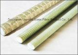Impacto duradero y resistente a la fibra de vidrio FRP barra de refuerzo, hilo Rebar