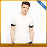 T-shirts bon marché faits sur commande de mâle de plaine de coton